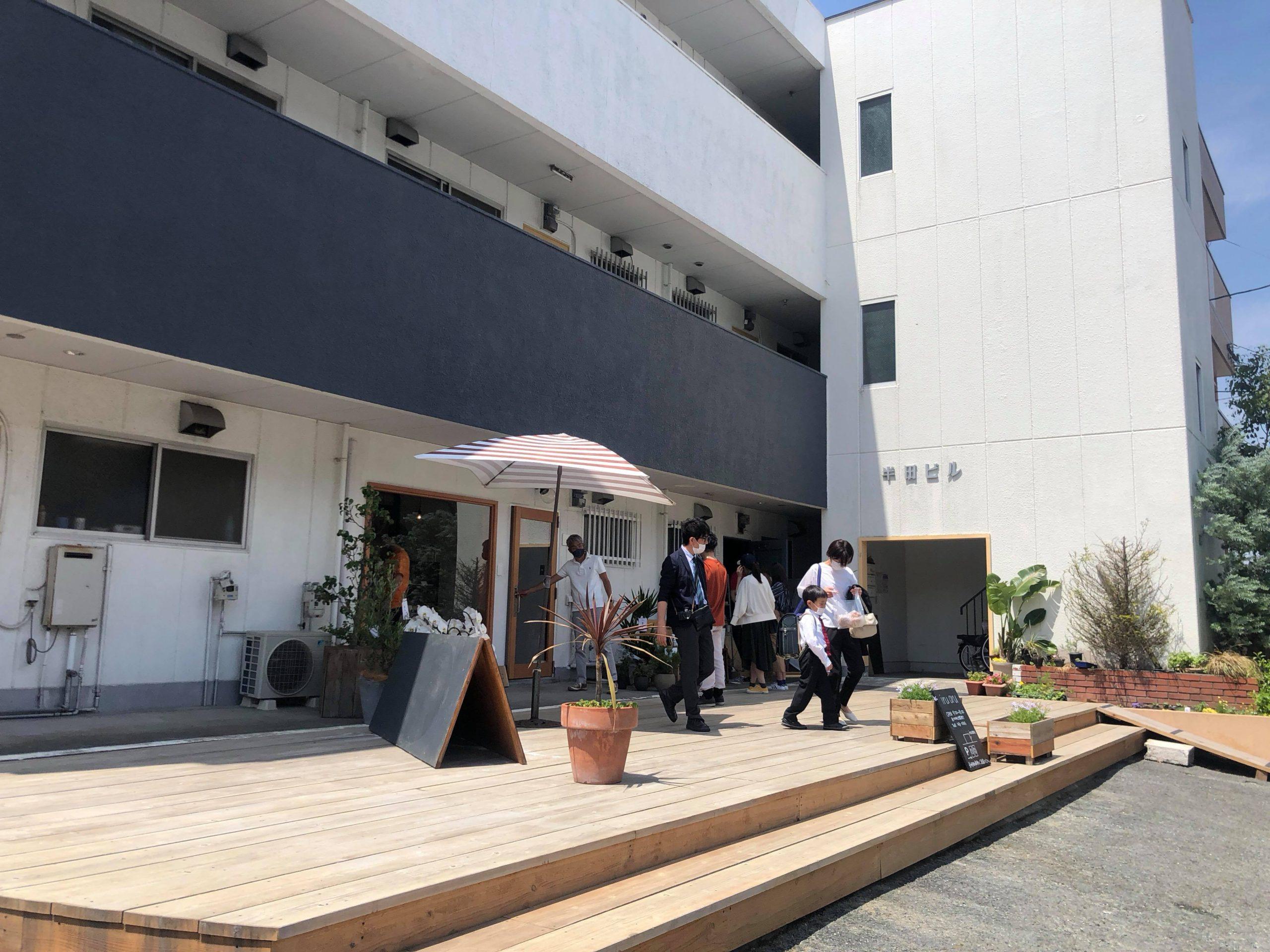 櫛原駅エリアのみらいマップ~菜園アパートから広がるマチのつながり~@ハンダアパートのイメージ